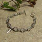 Prayer Bracelet Standard Sterling Silver (Clear)