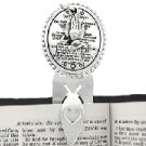 Bookmark (Silvertone Lord's Prayer) 1 in STOCK