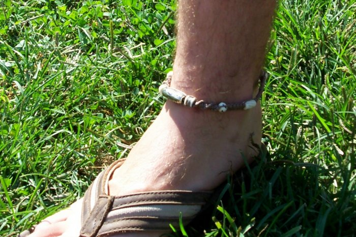 Hemp Ankle Bracelet