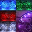 20 LED Bicycle Bike Cycling Rim Lights LED Wheel Spoke Light String Strip Lamp