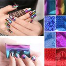 20Pcs Foils Finger Nail Art Sticker Decal DIY Water Transfer Stickers Tips Decor