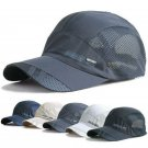 Women Men Sport Baseball Mesh Hat Running Visor Quick-drying Cap Summer Outdoor
