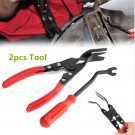 Hot Car Door Upholstery Trim Clip Removal Pliers Combo Dash Panel Moulding Tool
