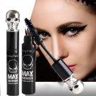 Long Curling Black Makeup Waterproof Skull Eyelash Mascara Extension 3D Fiber