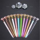 Cute Diamond Head Crystal Ball Pen Concert Pen Creative Pen Stationery tool 1PCS