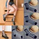 1 Pair Fashion Ultrathin Transparent Crystal Lace Elastic Women Ladies Socks