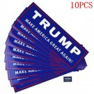 10PCS Lots Donald Trump for President Make America Great Again Bumper Sticker FT