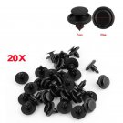 For Toyota 20pcs Car 7mm Bumper Hood Fender Splash Guard Retainer Clip Fastener