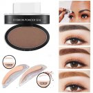 With Brow Stamp Natural Eyebrow Powder Makeup Palette Delicate Shadow Definition