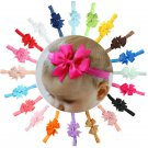 10PCS Lots Cute Headband Kids Girl Baby Toddler Bow Flower Hair Band Headwear FT