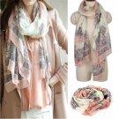 Women Ladies Fashion Soft Long Print Cotton Elegant Scarf Wrap Shawl Scarves FT1