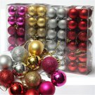 24X Lots Christmas Tree Decor Ball Bauble Hanging Xmas Party Ornament Decor Home