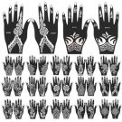 1PC For Hand Leg Arm Feet Body Art Decal India Henna Temporary Tattoo Stencils