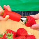 Lovely Cool Strawberry Berry Stem Leaves Huller Remover Fruit Corer Kitchen Tool