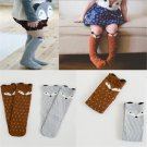 Fun Baby Children Toddlers Fox Knee High Socks Tights Leg Warmer Stockings FT87
