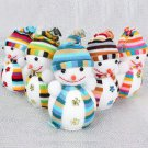 Christmas Xmas Tree Snowman Cute Ornaments Festival Party Hanging Decoration FT