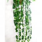 Exquisite Lifelike Artificial Ivy Leaf Garland Plants Vine Fake Foliage Flowers