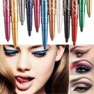 12 Color Professional Waterproof Eye Shadow Lip Liner Eyeliner Pen Pencil Makeup