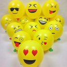 10PCS Lot Cute Emoji Face Balloons For Festival Birthday Party Xmas Decoration