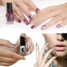 HOT 6ML Magic Mirror Effect Lacquer Dust Chrome Shinning Pigment Nail Art Polish