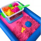 Kinetic Magic Motion Colorful Sand Kid Child Indoor Play Craft Non Toxic 50g/bag