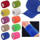 Self-Adhesive First Aid Medical Health Care Treatment Elastic Bandage Gauze Tape