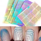 3 Sheet 3D Design Nail Art Transfer Stickers Manicure Tips Decal Decor Tool FT