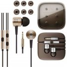 Gold 3.5mm Piston In-Ear Stereo Earphone Headset Headphone For iPhone Samsung FT