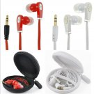 Cool 3.5mm Earphone Earbuds Headset HeadPhone For Cellphone Mp3 Mp4 iPod PC CD