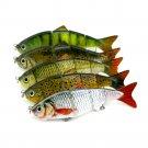 Minnow Fishing Lures Crank Bait Hooks Bass Crankbaits Tackle Sinking Popper FT