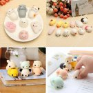 10pcs Animal Squishy Healing Squeeze Fun Kid SOFT Toy Stress Reliever Deco FT
