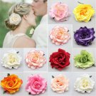 Wedding Bridal Bridesmaid Rose Flower Hairpin Brooch Party Accessories Hair Clip