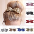 Cute Women Girls Hairpin Bowknot Barrette Crystal Hair Clip Bow Accessories Gift