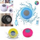 One Waterproof Bluetooth Wireless Speaker Handsfree Music Mic Suction Car Shower