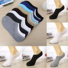 Soft Invisible Casual Cotton Men/Women Socks Low Cut Boat Nonslip No Show 1 Pair