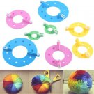 8X Fashion Essential Round Pom Pom Maker Fluff Ball Weaver Needle Knitting Tool
