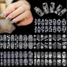 DIY 3D Lace Nail Art Manicure Tips Stickers Decal Decor SELF ADHESIVE TRANSFERS