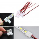 10PCS Lots PCB Cable 2 Pin LED Strip Connector 3528/5050 Single Color Adapter FT