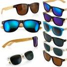 Fashion Bamboo Sunglasses Wooden Wood Mens Womens Retro Vintage Summer Glasses