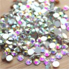 Flat Back DIY Nail Art Rhinestones Glitter Diamond Gems 3D Tips Decoration FT