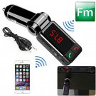 With 2 USB Port Car Kit MP3 Music Player Wireless Bluetooth FM Transmitter Radio