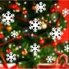 Lovely Fun Snow Snowflake Frozen Decal Window Wall Sticker Christmas Decor FT25