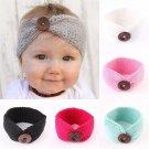 Soft Kids Baby Girls Toddler Knit Turban Hair Band Headwear Headband Accessories