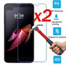 For LG X Screen Power Cam 2PCS 9H Premium Tempered Glass Screen Protector Film