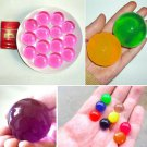Magic Crystal Soils Large Big Dragon Ball Water Beads Gel Ball HOME Decor 15X FT