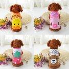 Pet Dog Puppy Apparel Cotton Thin Vest T Shirt Clothes Tops Summer Costume FT
