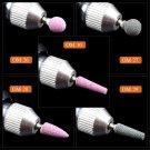 Ceramic Stone Nail Drill Bit Rotate Burr Cuticle Clean Mill Manicure Tools FT
