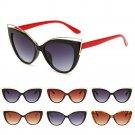 Charm Women Retro Cat Eye UV400 Sunglasses Fashion Eyewear Shades Eye Glasses FT
