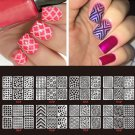 Nail Art Transfer Stickers 3D Manicure Tips Decal DIY Decorations  24 Sheets