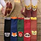 3D Cute Women's Kids Korean Cartoon Socks Animal Fashion Ankle Cotton Hosiery FT